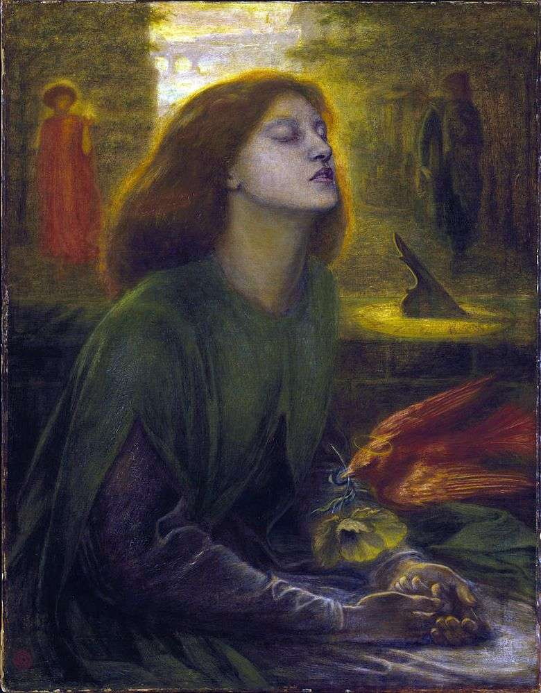 Beatrice the Blessed   Dante Rossetti