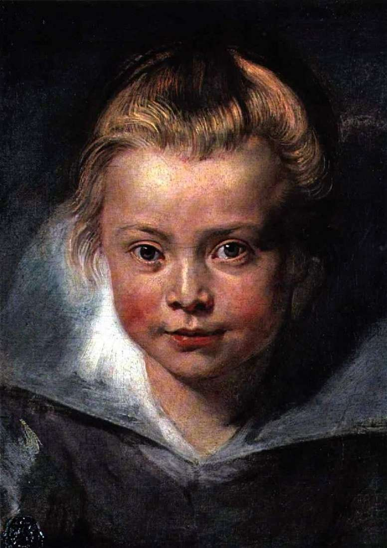 Baby Head   Peter Rubens