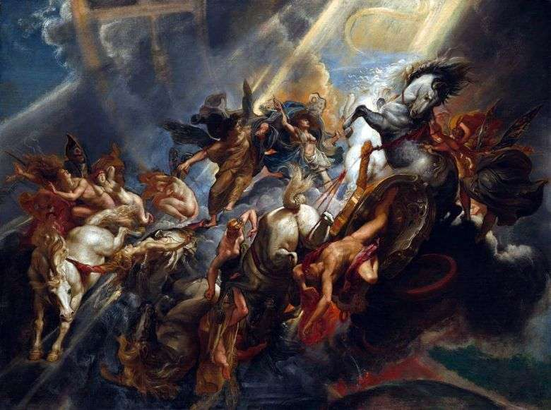 The Fall of Phaeton   Peter Rubens