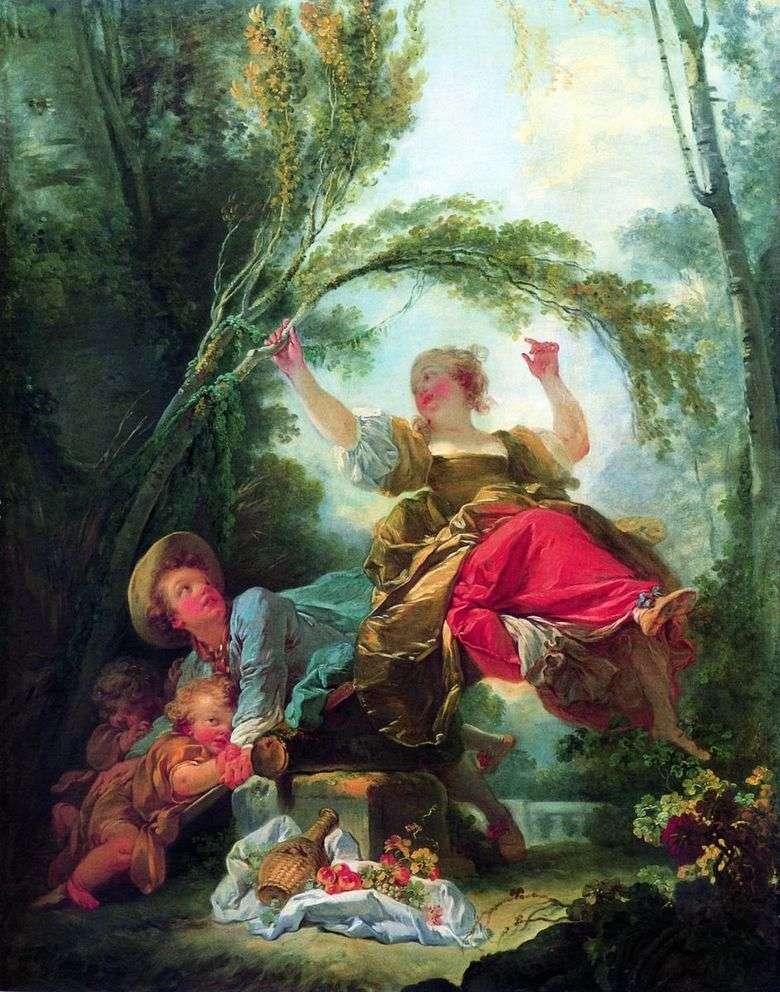Huśtawka Dziecięca Jean Honore Fragonard Fragonard Jean Honore