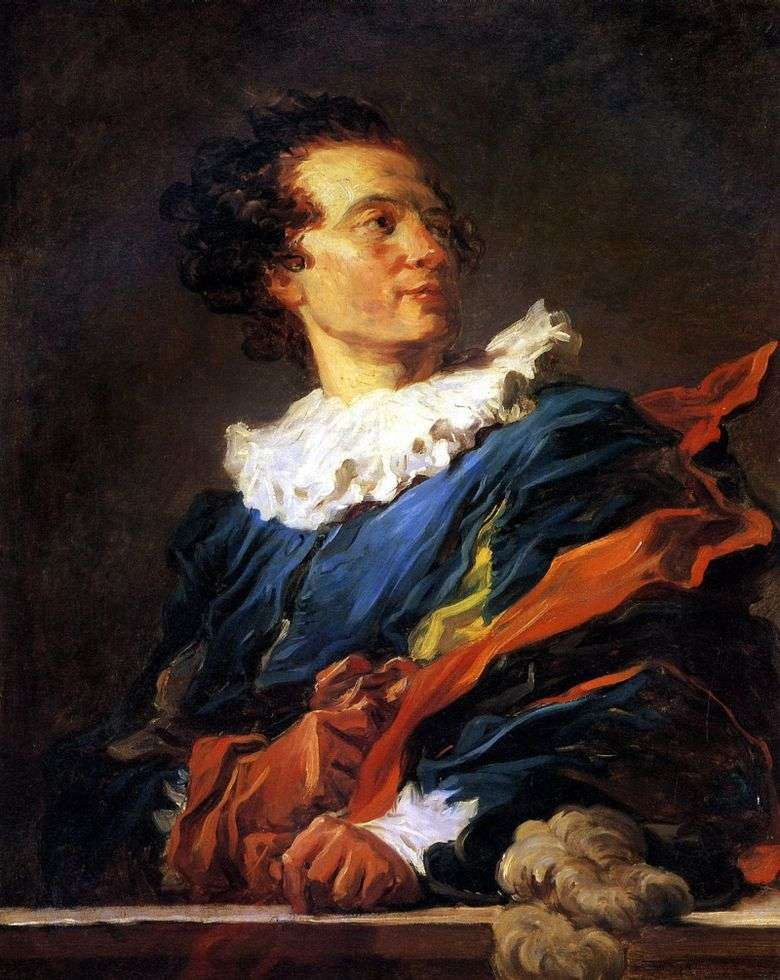 Jean Claude Richard, opat Saint Non Jean Honore Fragonard