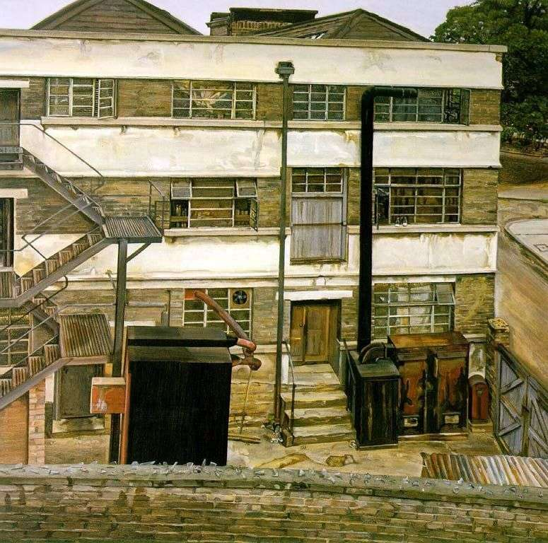 London Factory   Lucien Freud