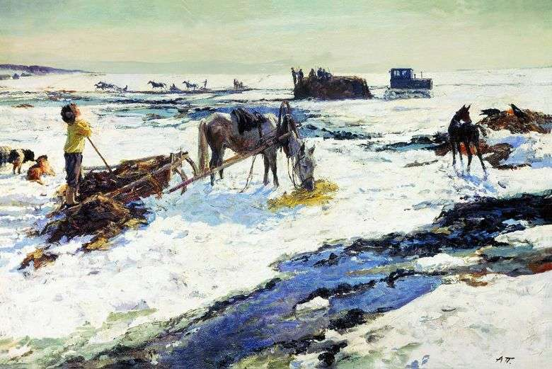Rustic March   Arkady Plastov