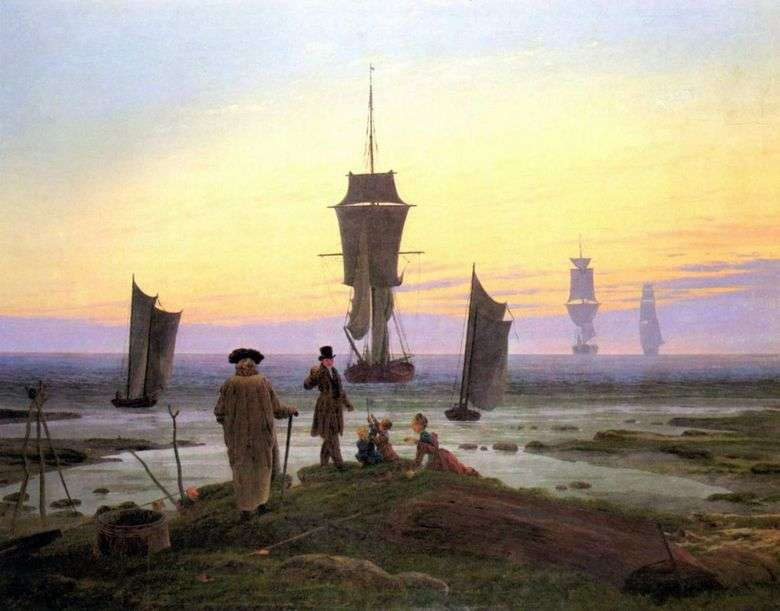 Life Steps   Caspar David Friedrich