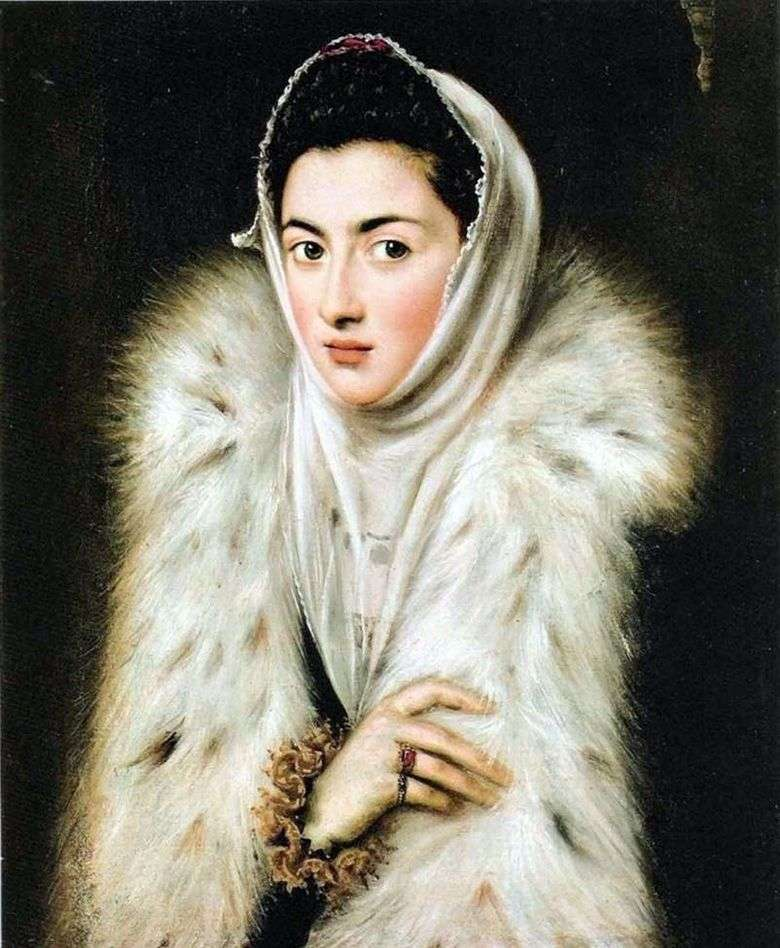 The Lady in Furs   El Greco