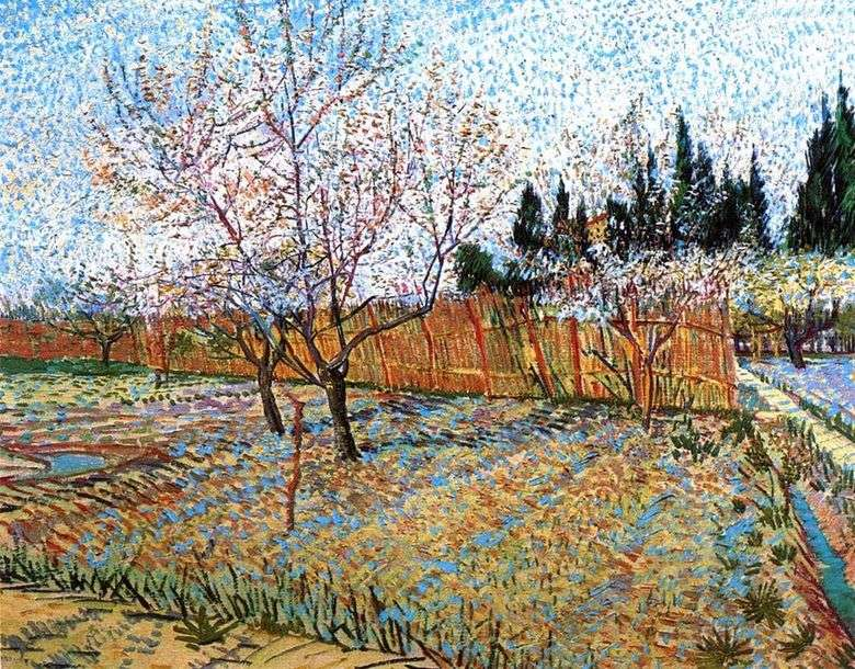 Peach Blossom Orchard   Vincent Van Gogh