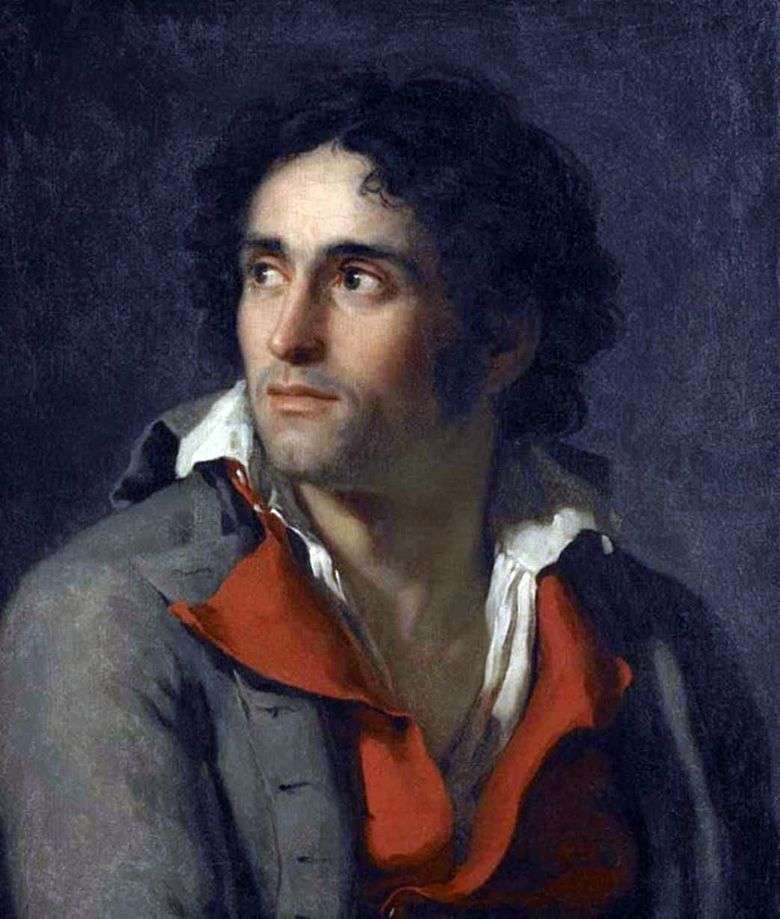 Portret więźniarza   Jacques Louis David
