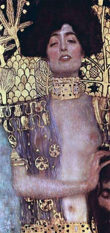 Judith and Holofernes Head   Gustav Klimt