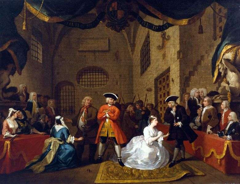 Beggars 'Opera   William Hogarth