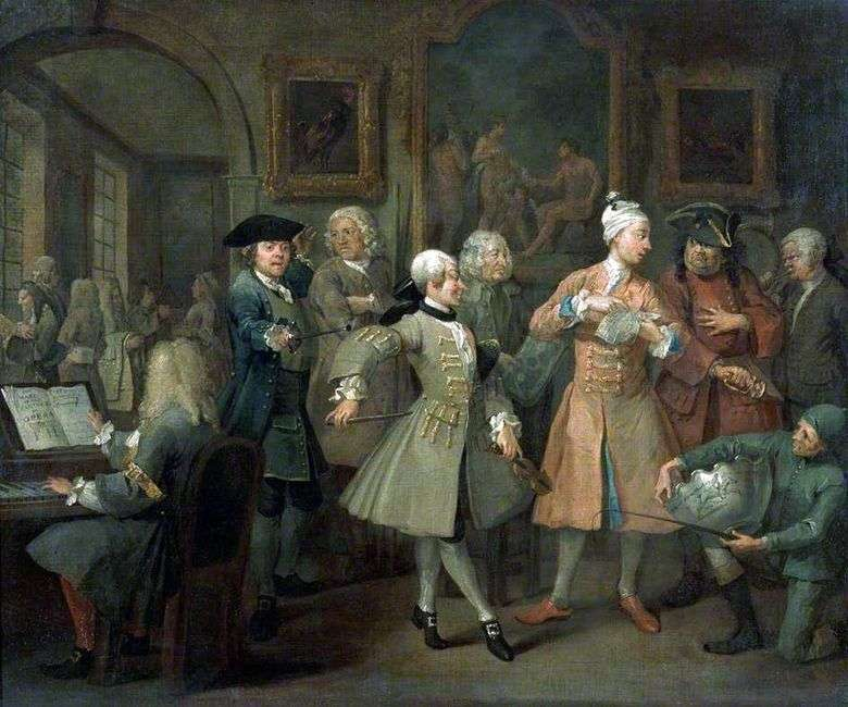 The Rise   William Hogarth