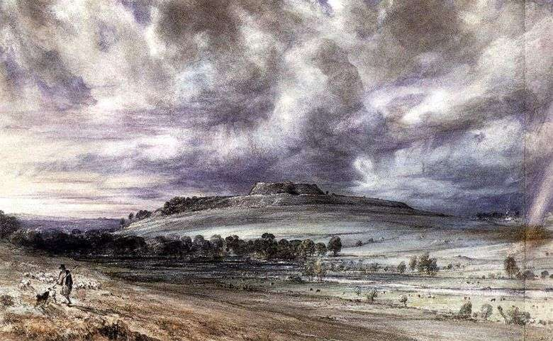 Old Sarum   John Constable