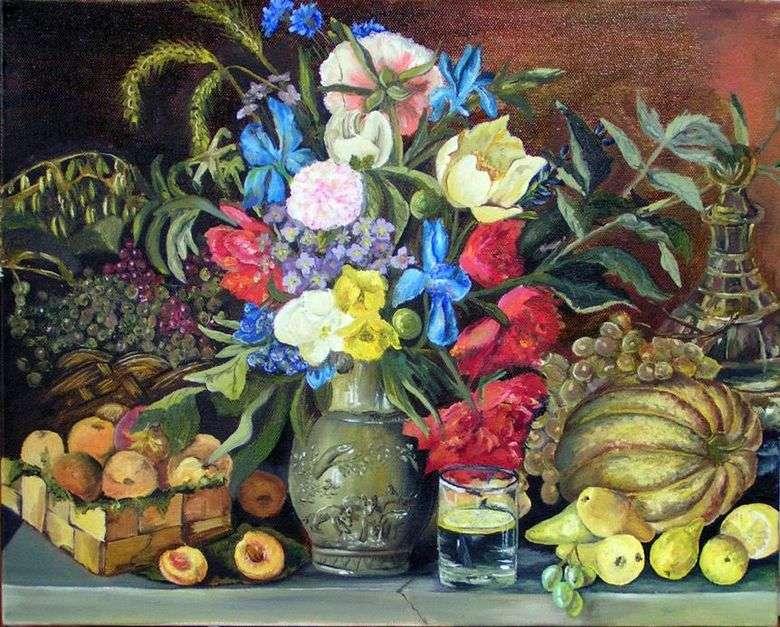 Kwiaty I Owoce Ivan Khrutsky Chruszczanski Iwan