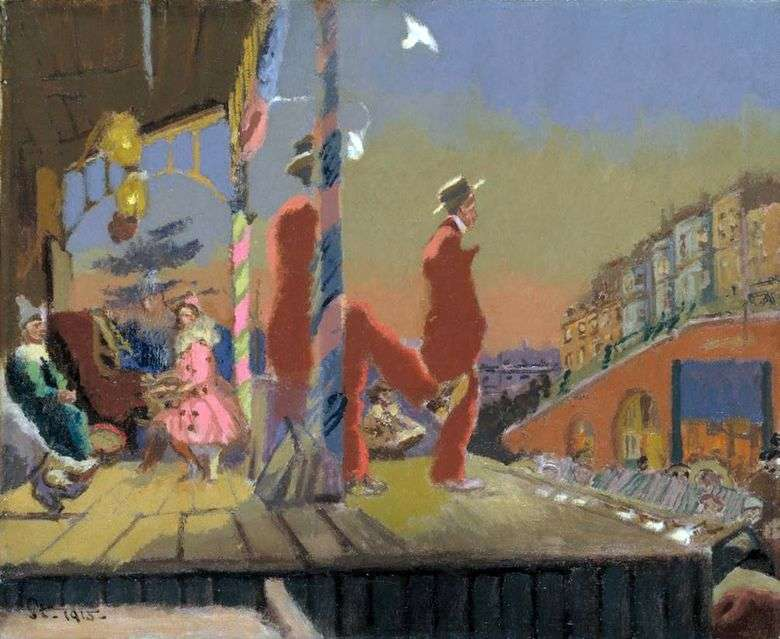 Brighton Comedians   Walter Richard Sickert