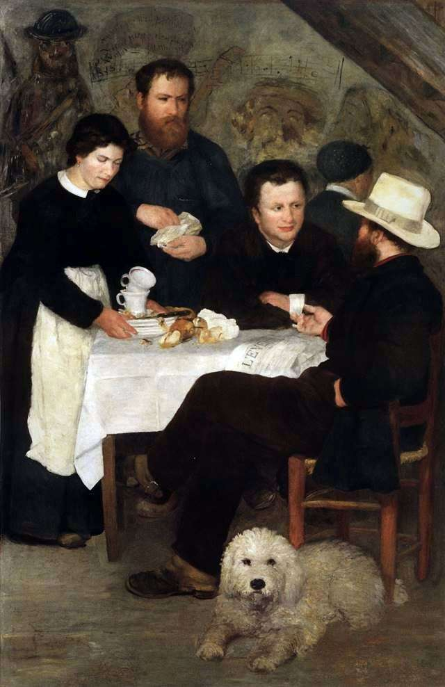 Tavern of Mother Anthony   Pierre Auguste Renoir