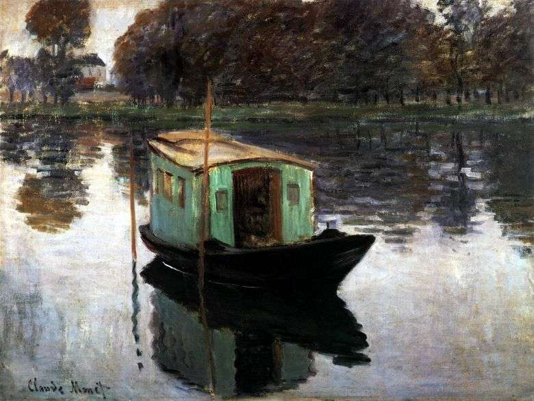 Studio łodzi   Claude Monet