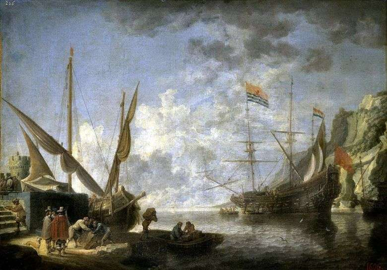 Nadmorski port   David Teniers