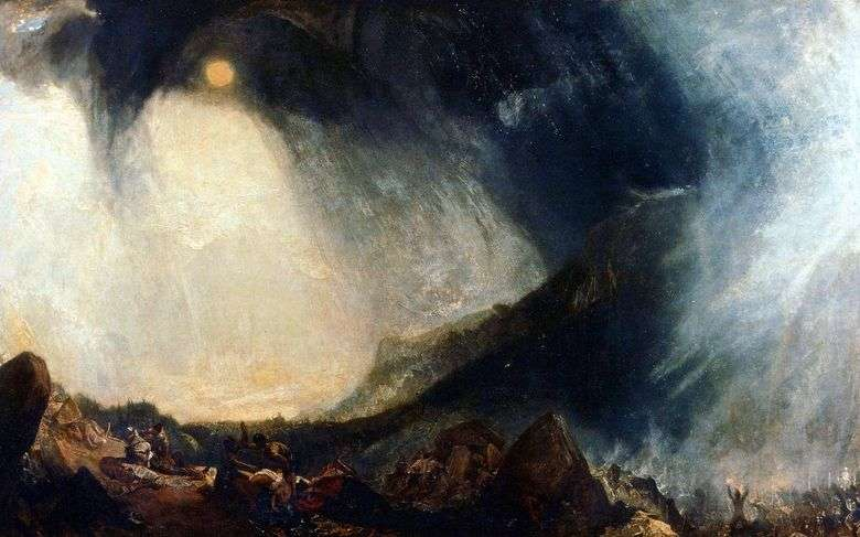 Hannibal Crossing the Alps   William Turner