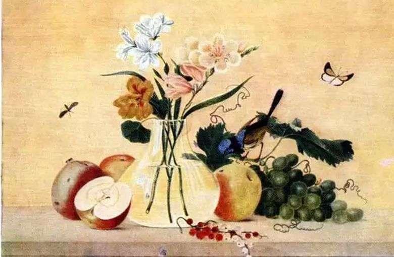 Kwiaty Owoce Ptak Fedor Tolstoj Tolstoj Fedor