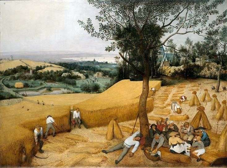 Harvest Summer   Peter Bruegel